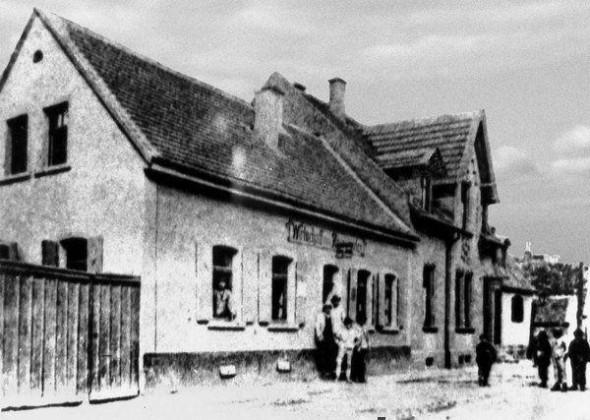 LO: Oppau Zum Rosengarten, Edigheimer-Str. (Heute Stadtsparkasse)