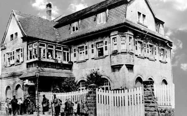 LO: Oppau 1909 Zur Bauhütte Edigheimer-/Bunsen-Str.