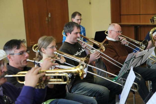 Orchesterprobe MBO 2012