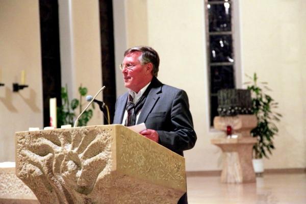 Ansprache und Begrüßung durch Ortsvorsteher Udo Scheuermann
