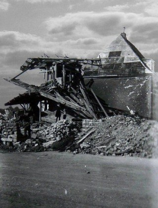 Oppau 1944 Gabelsberger-/Max-Str.(Schinkel-Str.)