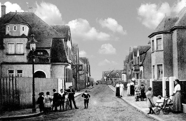 OR: Oppau 1922 Bismarck-Str.(August-Bebel-Str)/Parseval-Str