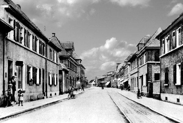 OR: Oppau 1930 Friesenheimer-Str.