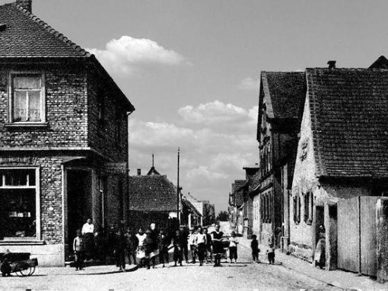 OR: Oppau 1920 Kirchen-Str./Hinkelgasse