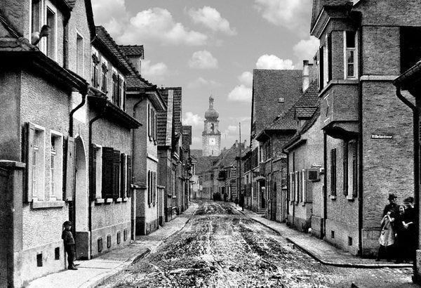 OR: Oppau 1925 Kirchen-Str./Wilhelm-Str.