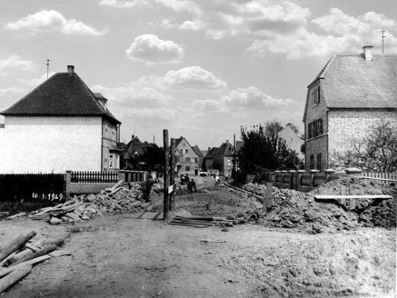 OR: Oppau 10.7.1929 Oggersheimer-(Windthorst-)/Weiherhof.