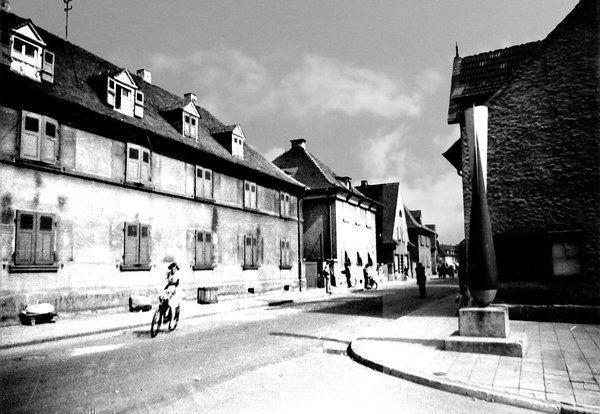 OR: Oppau 1938 Edigheimer-Str./Rosental-Str.
