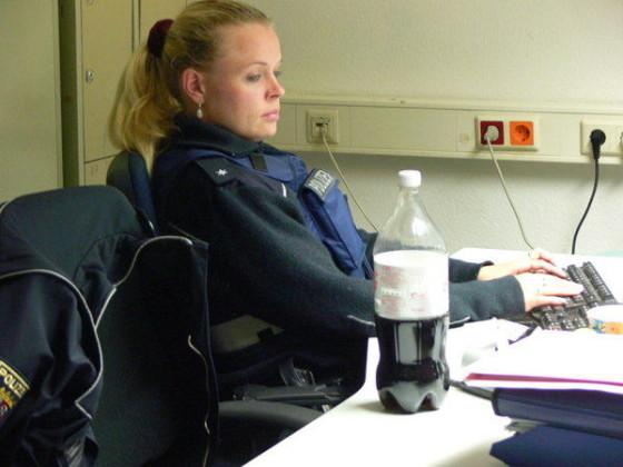 Juliane Stumm kümmert sich ebenfalls um ihren Schreibkram