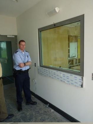 Oppau 22.9.2010. Neubau der Polizeiinspektion II in Ludwigshafen-Oppau. PI 2