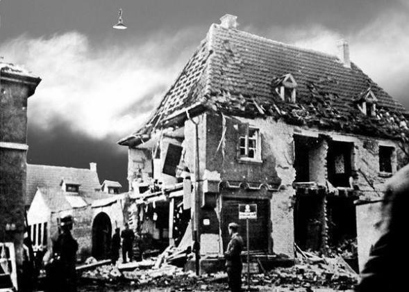 Oppau 1941. Schmiede Gebr. Schantz, Friedrich-/Pilger-Str.