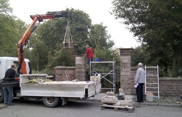 Park: Portal restauriert