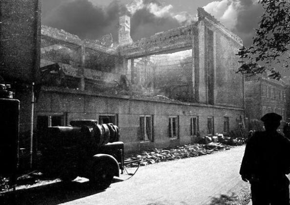 Oppau 1943 Ratskeller der prot. Kirchengemeinde,