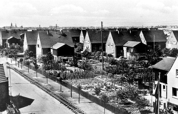 RS: Oppau um 1938 Rheinsiedlung