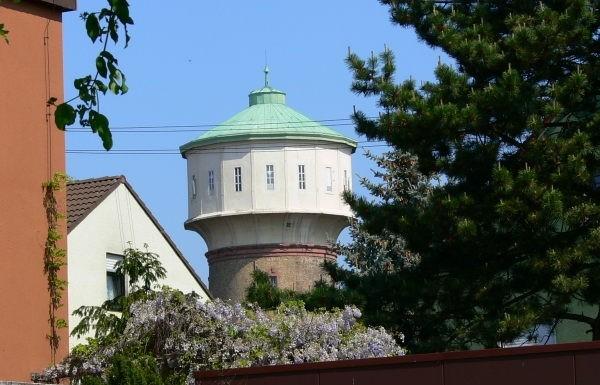 Wahrzeichen Wasserturm Edigheim