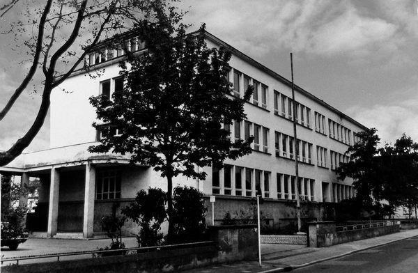 SC: Oppau 19.12.1929 Die Goetheschule wird eingeweiht