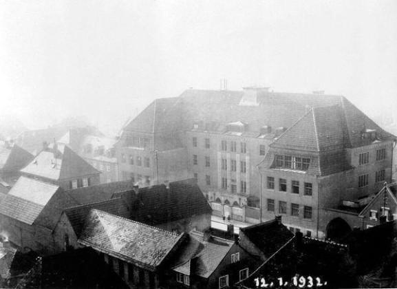 SC: Oppau 12.1.1932 Grosse Gasse, Pestalozzi-Schule