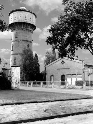 WT: Edigheim um 1900 Frankenthaler Wasserturm