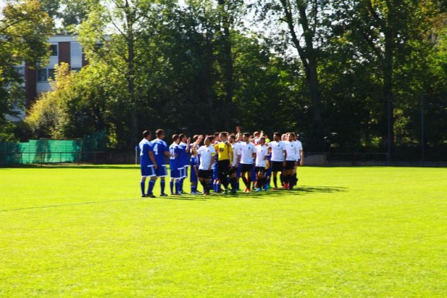 Um 14:00 Uhr ASV II gegen SV Kirchheim II (Halbzeitstand 1 : 0)
