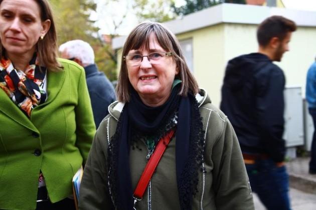 Die Enkelin von Fridolin Braun war ebenfalls anwesend