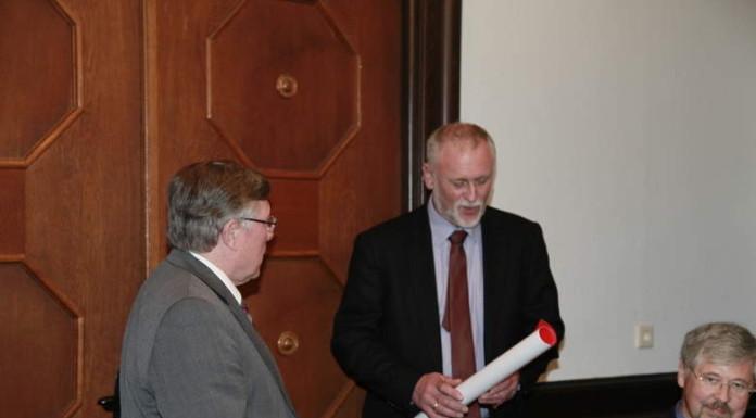Ortsbeirat, Helge Moritz, FWG, verpflichtet
