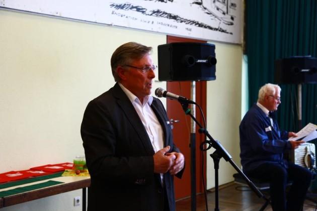 Ortsvorsteher Udo Scheuermann, Begrüßung