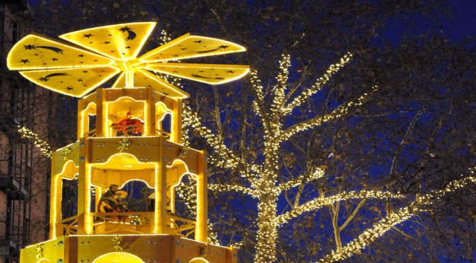 Weihnachtsmarkt 2016 Ludwigshafen am Rhein auf dem Berliner Platz