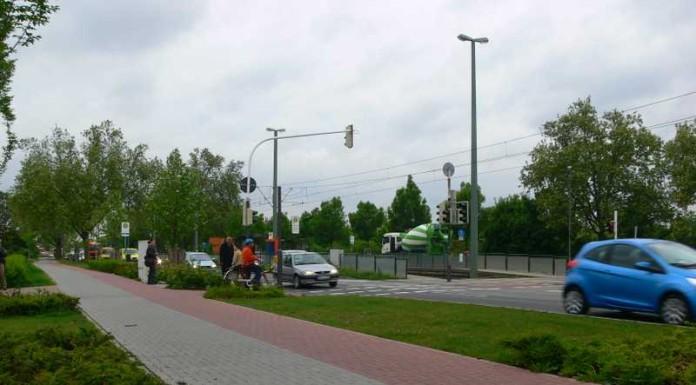 Brunckstraße in Höhe Rottstückerweg