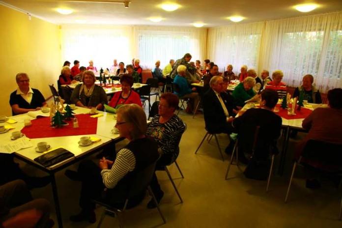Weihnachtsfeier im Seniorentreff Oppau