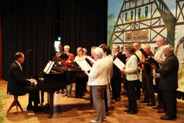 kath.Kirchenchor, Leitung Domonik Therre.
