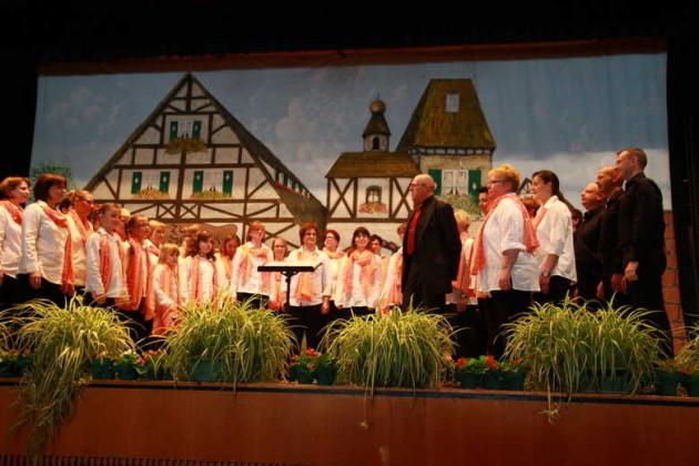 Junger Chor Take Four, Leitung Ulrich Dörr.