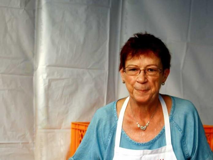 Irene beim TTC-Grillfest