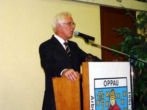 Alfred Schneider, Archivfoto 2011 Wappenschildverleihung