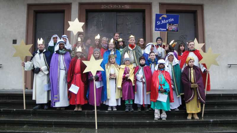 Dreikönigssingen in Oppau