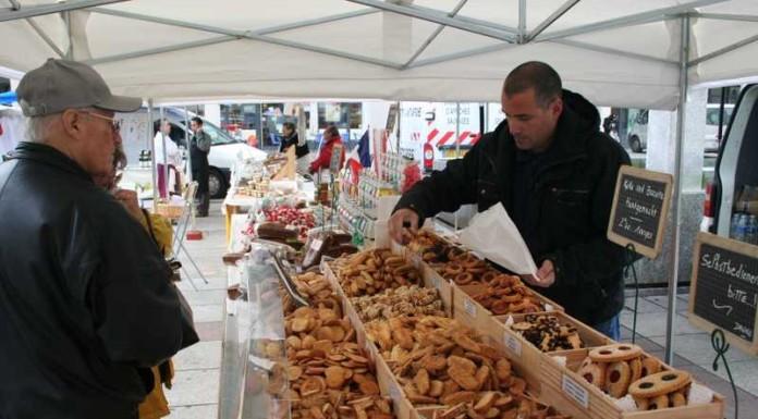 Französischer Gourmetmarkt in Ludwigshafen