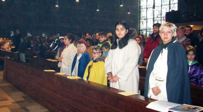 Gottesdienst in 'Maria Königin'