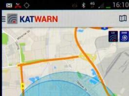 KATWARN Katastrophenwarnung über Smartphone