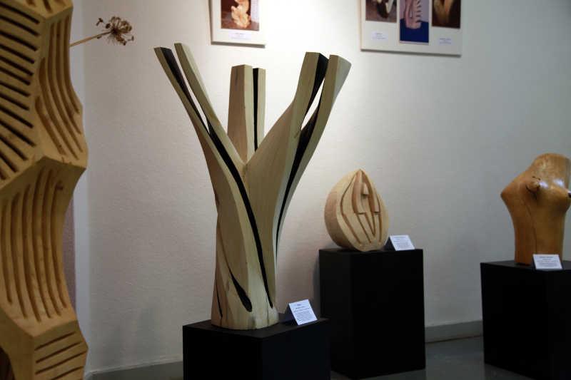 Eines der vielen Exponate der Ausstellung von Erhard Seiler