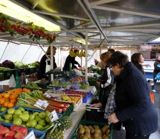 Wochenmarkt Edigheim