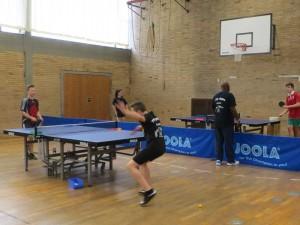 Tischtennistraining beim 1. TTC Oppau