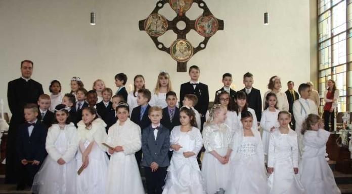 Weißer Sonntag in der Pfarrei Hl. Edith Stein