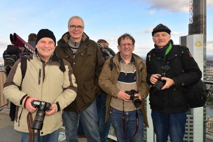 """Fotoclub """"Pentaprisma"""", Der neue Vorstand v.l.n.r.: Hans Kirsch, Ralf Schmitt, Ralf Walther, Willi Faßbender"""
