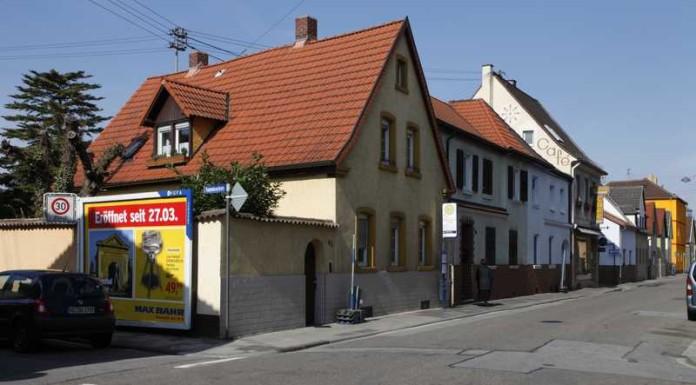 Haltestelle Edigheimer-/ Dammbruchstr. Archivbild.