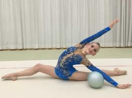 Mia Kärcher bei den Deutschen Meisterschaften in Bremen