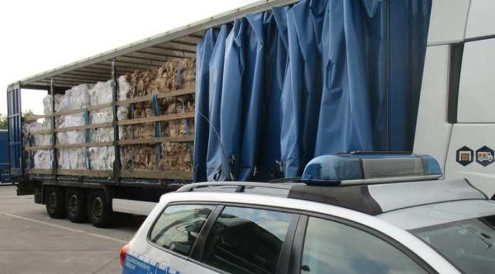 Abfalltransportkontrolle