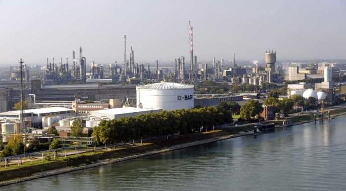 BASF Werksübersicht Nord