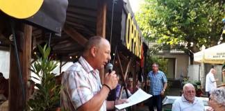 Samstag: Harry Metzner begrüßt die Gäste