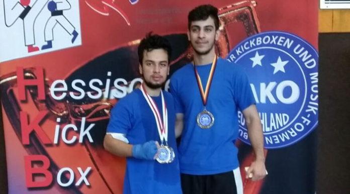 Safi Naser (l) und Oktay Feratov