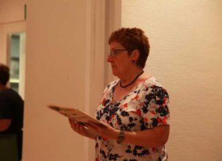 Edith Brünnler mit Mundartvortrag