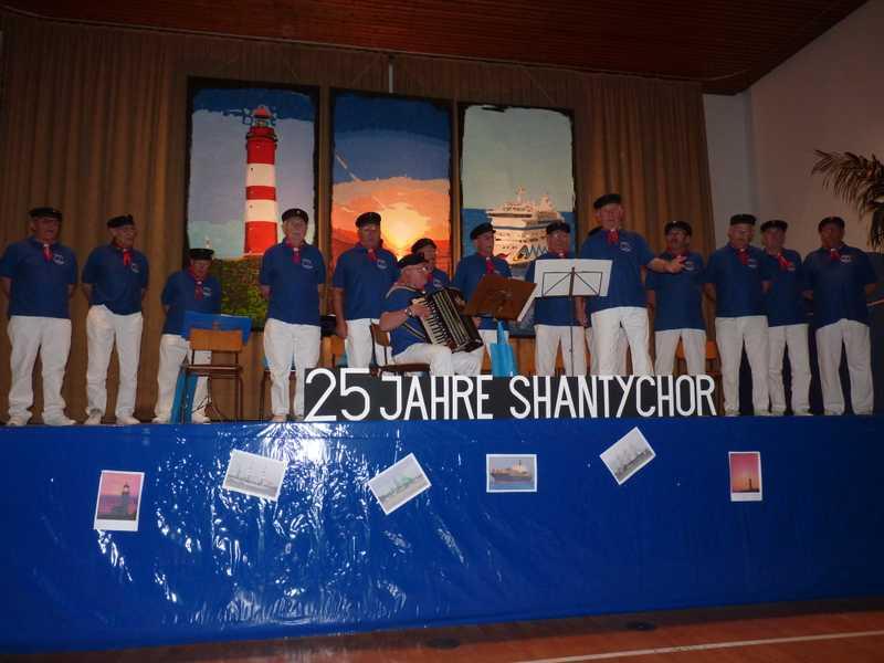 Shanty-chor 25 Jahre