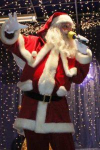 Der singende Weihnachtsmann